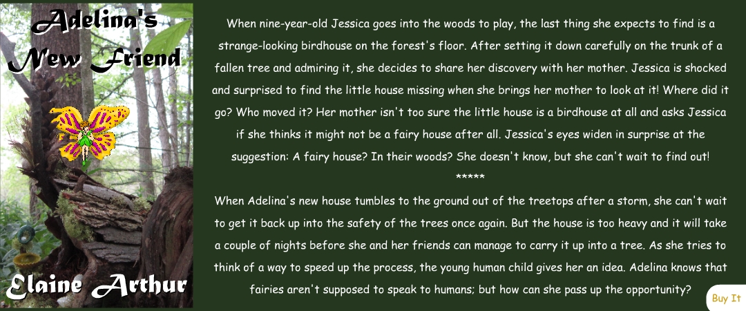 Buy Adelina's New Friend by Elaine Arthur