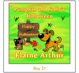 Buy Pumpkin and Kally's Halloween by Elaine Arthur