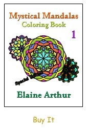 Buy Mystical Mandalas 1 by Elaine Arthur