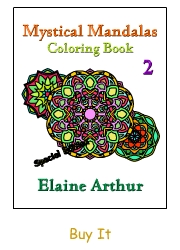 Buy Mystical Mandalas 2 by Elaine Arthur