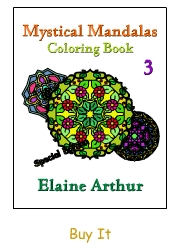 Buy Mystical Mandalas 3 by Elaine Arthur
