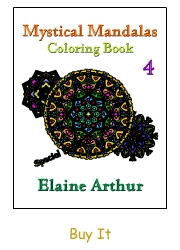 Buy Mystical Mandalas 4 by Elaine Arthur