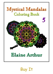 Buy Mystical Mandalas 5 by Elaine Arthur