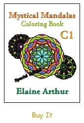 Buy Mystical Mandalas C1: The Collection (5 Books in 1) by Elaine Arthur